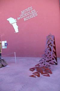 Tourves 2017 sculpture acier 200x205x55