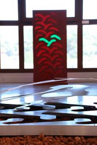 Tourves 2017 Stèle 120x60 ciment résines