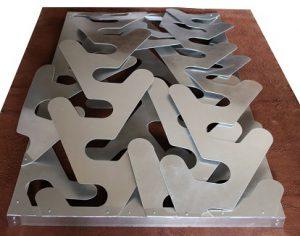 Sculpture T 202 180x100x35 aluminium