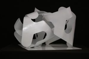 T252 sculpture acier 45x36x30